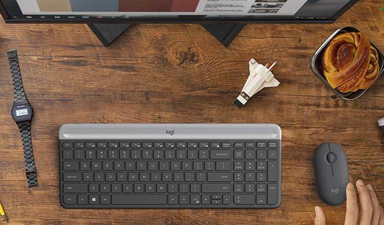 Logitech MK470 Kablosuz Klavye&Mouse Seti