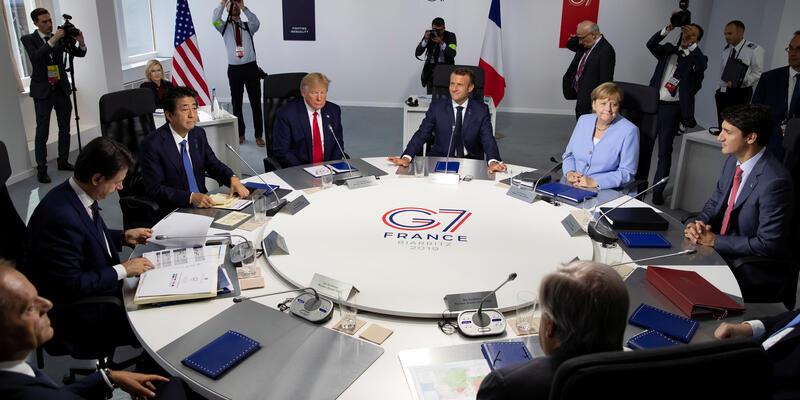 g7 zirvesi -